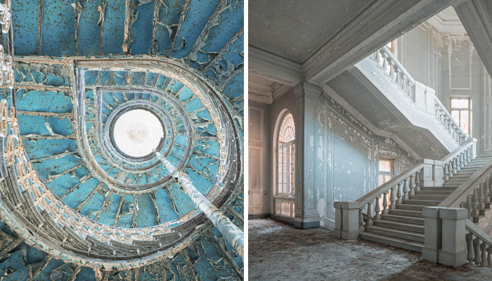 I Travel Through Europe In Search Of Elegance In Abandoned Places