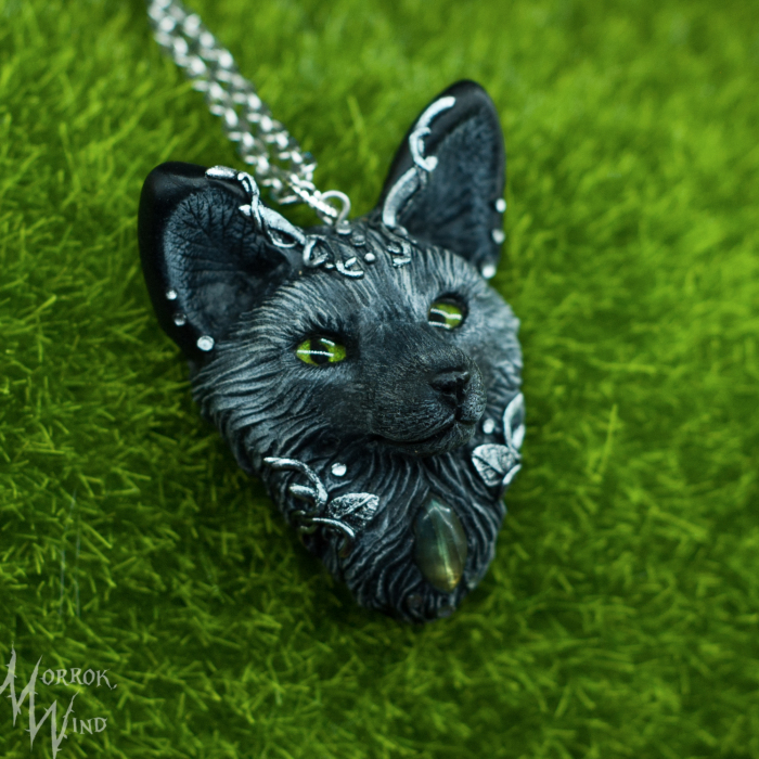 "Silver Fox, Inspired By Lovely Book My Childhood ""Domino"""