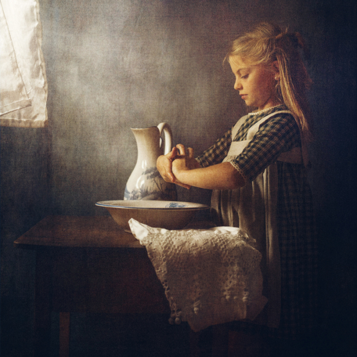 By The Window, Childhood-Inspired Photo Series