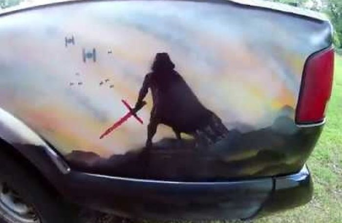 I Spray Painted My Car Star Wars And It Bothers People