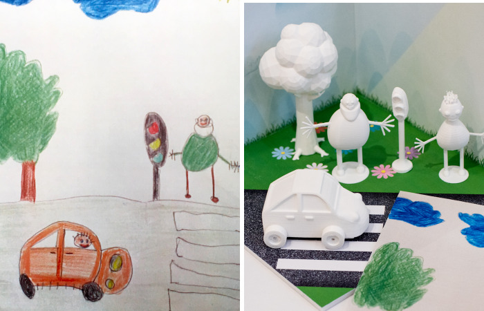 Designer Team Turns Kids' Art Into Reality