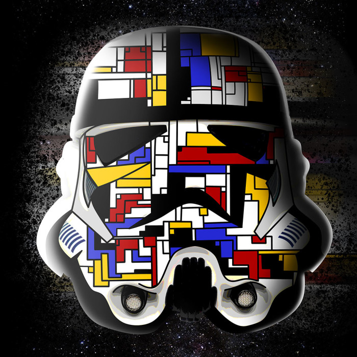 We Combinined Stormtrooper Helmets With A Variety Of Fun Themes Using Photoshop