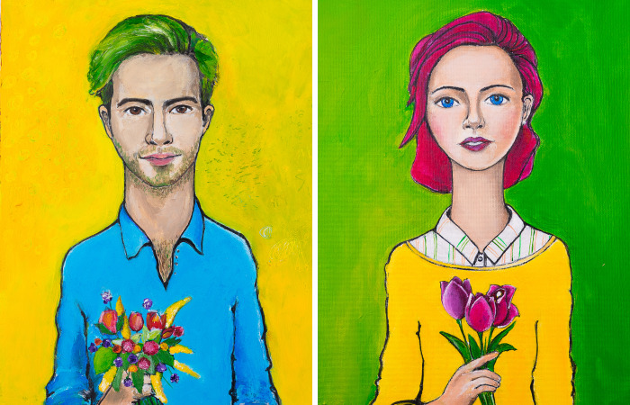 You'll Recognize Yourself In These Amazing Portraits By An Amsterdam-Based Artist