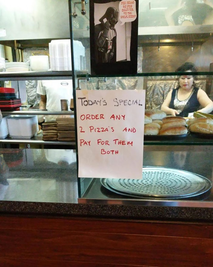 This Pizza Shop Gets It