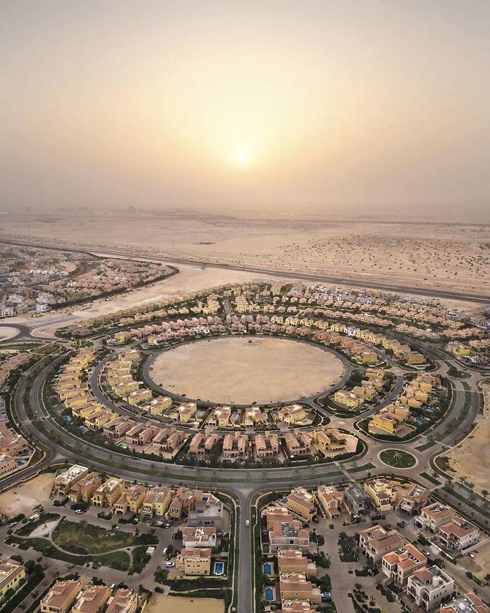 Desert City Sunset (Dubai, United Arab Emirates)