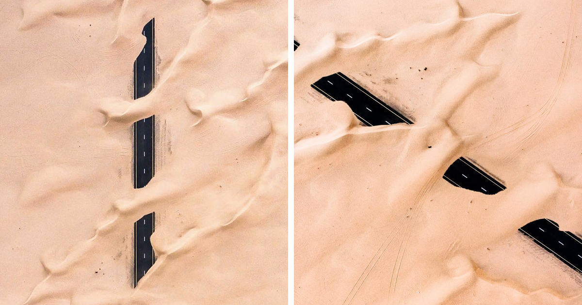 The Desert Is Taking Over Dubai And Abu Dhabi, And The Photos Are Stunning
