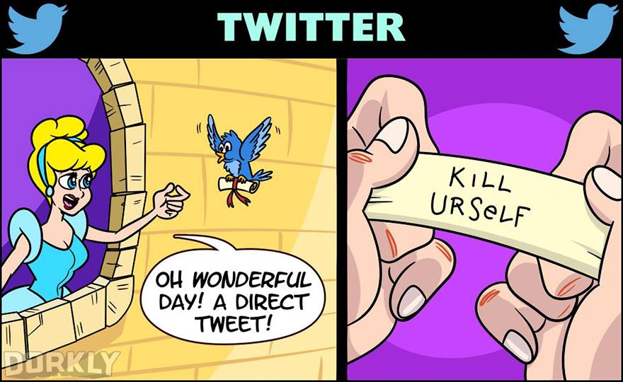 Disney Social Media