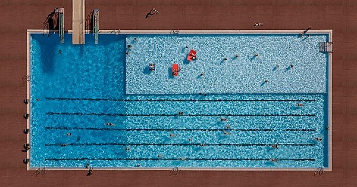 Photographer Creates Series Of Pools Like You've Never Seen