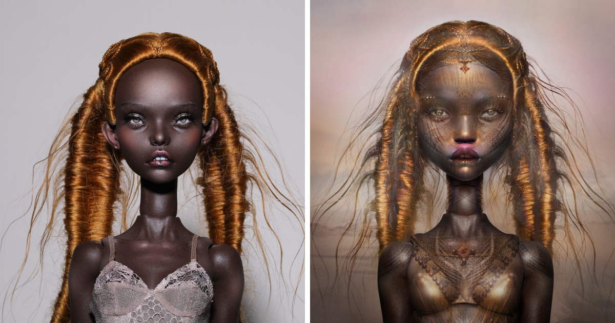 Dutch Visual Artist Collaborated With Doll Makers To Create Surreal Art