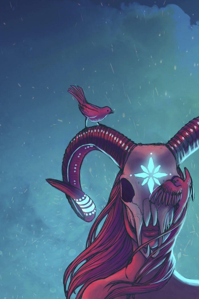 Illustrator Recreates The Zodiacs As Goddesses, Starts Appreciating