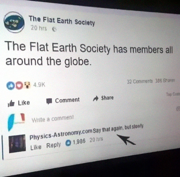 Image result for flat earth website meme global organisation