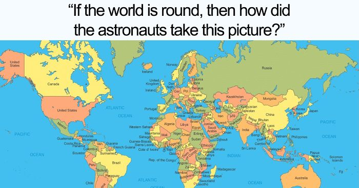 The Internet Can T Stop Trolling Flat Earthers With 38 Hilarious
