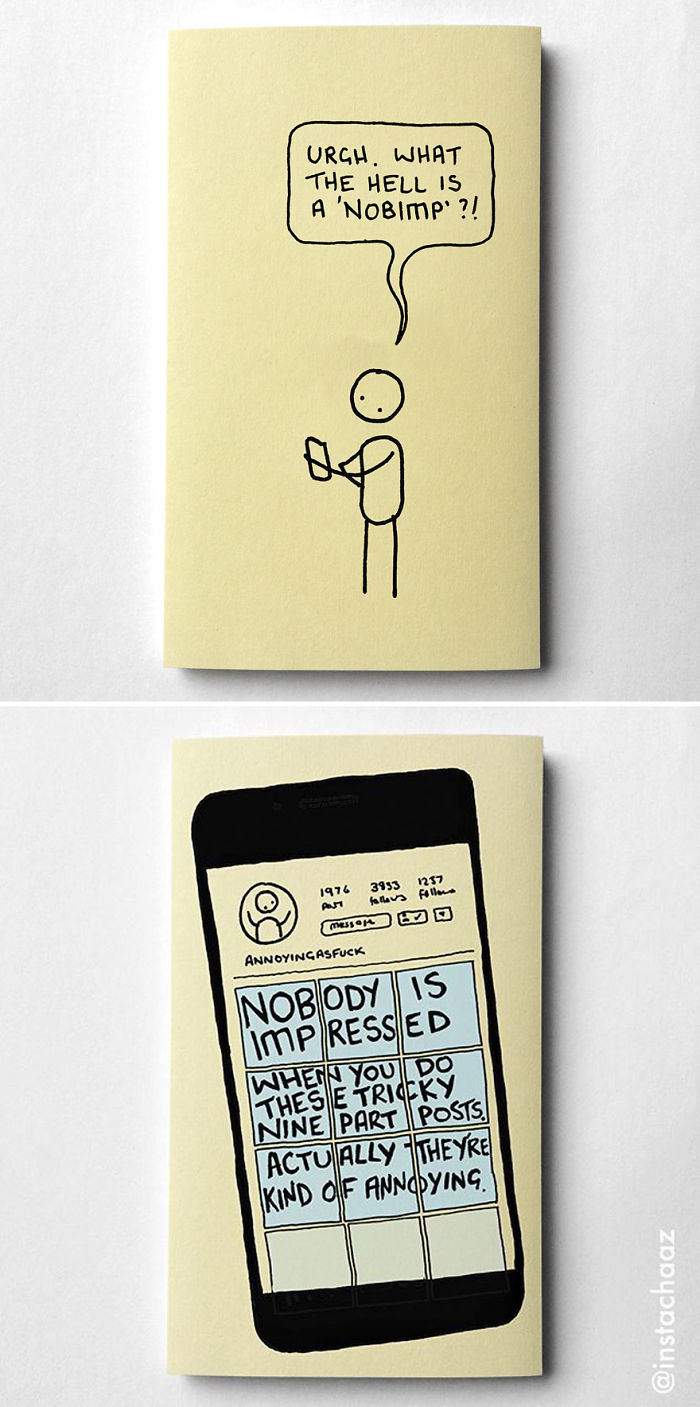 Funny Adulthood Problems Sticky Notes Chaz Hutton