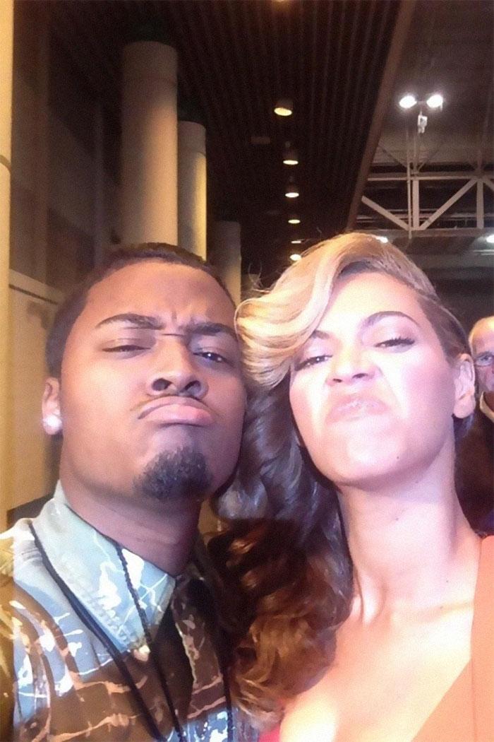 Conoció a Beyoncé y ella le dijo que imitaría cualquier cara que él pusiera en la foto