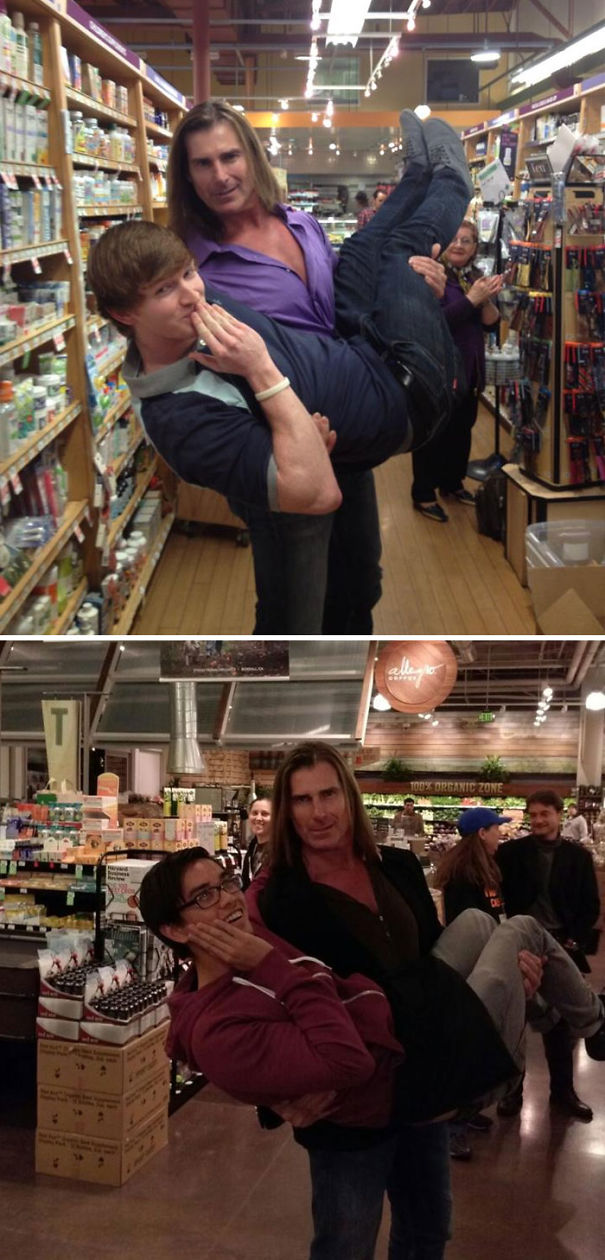 A Buddy Of Mine Met Fabio, It's All Down Hill From Here...