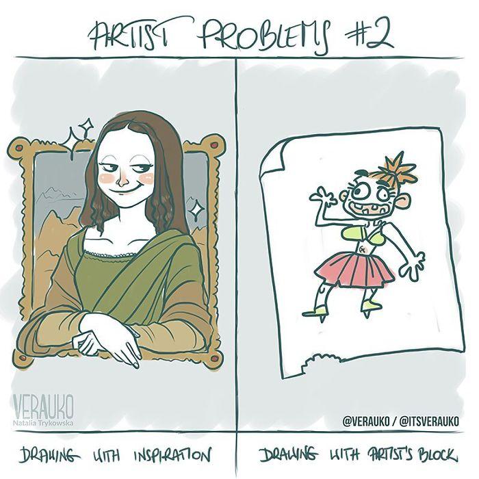 Natalia Trykowska Comics