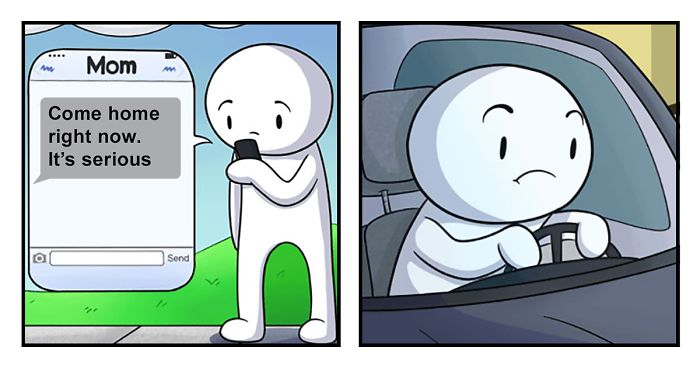 These 275 Funny Comics By Theodd1sout Have The Most Unexpected