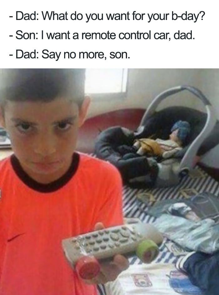 Son's Birthday Is Coming Up