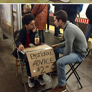 There's An 11-Year-Old In New York Subways That Sells Emotional Advice Instead Of Lemonade