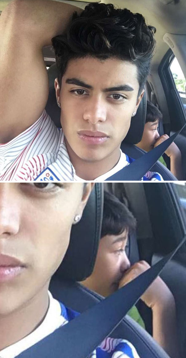 Boy In The Back Is Probably Going Through Existential Crisis