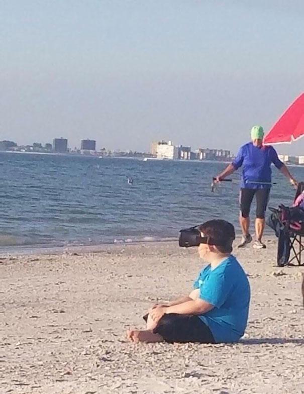 A Better Reality Spotted At A Beautiful, Award-Winning Beach