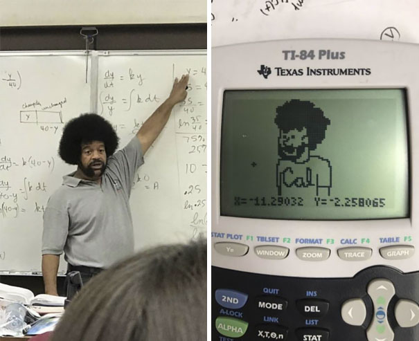 A Kid In My Class Spent The Whole Period Plotting The Cal Teacher