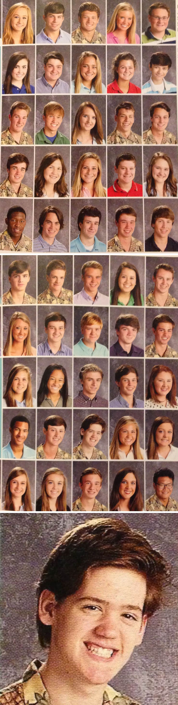Some Guys At My School Thought It Would Be Funny To Pass Around A Pineapple Shirt On Picture Day