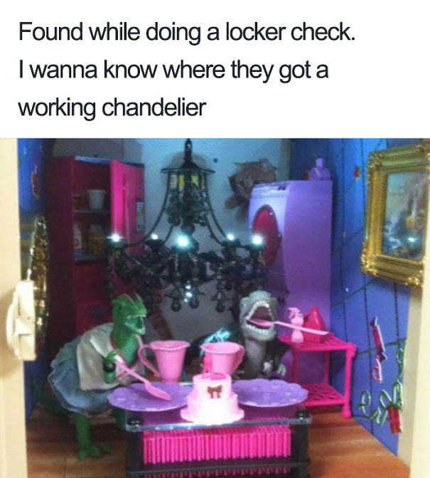 I Wanna Know Where They Got A Working Chandelier