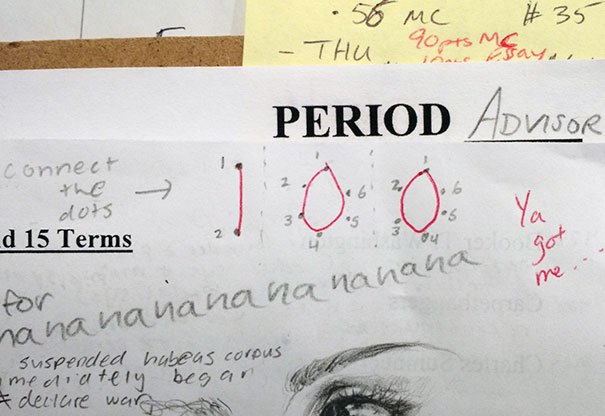 """After Days Of Grading Papers, I Stumble Upon This. """"Oooh. Wait A Second..."""""""