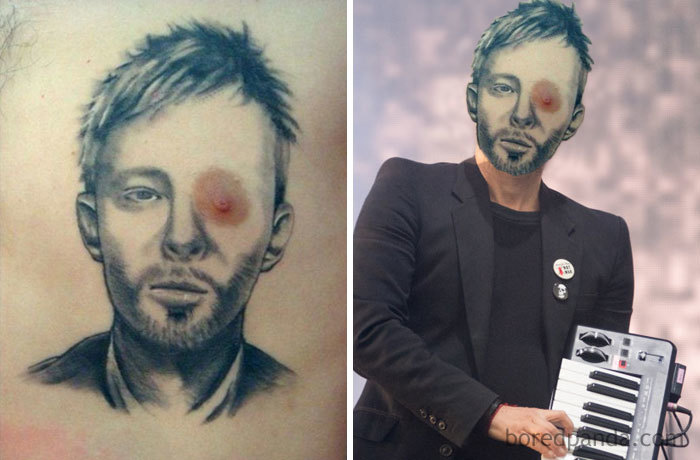In Real Life Thom Yorke Has Two Eyes