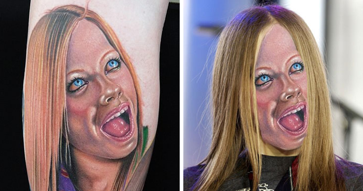 We Face Swapped 20+ Tattoos To Show How Bad They Really Are, And Angelina Jolie Is Not So Sexy Anymore