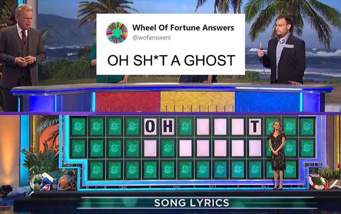 "Someone Is Tweeting Hilariously Wrong ""Wheel Of Fortune"" Answers, And We Can't Get Enough"