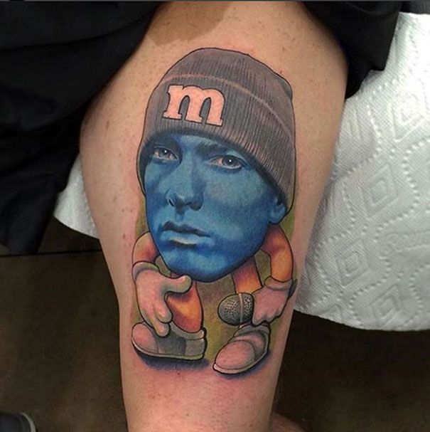 Eminem Or M&M?