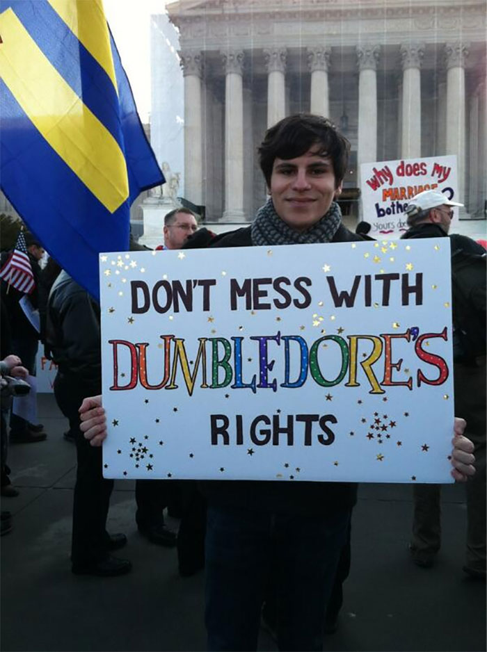 Don't Mess With Dumbledore's Rights