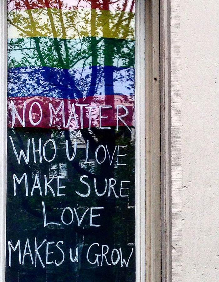 No Matter Who U Love Make Sure Love Makes U Grow