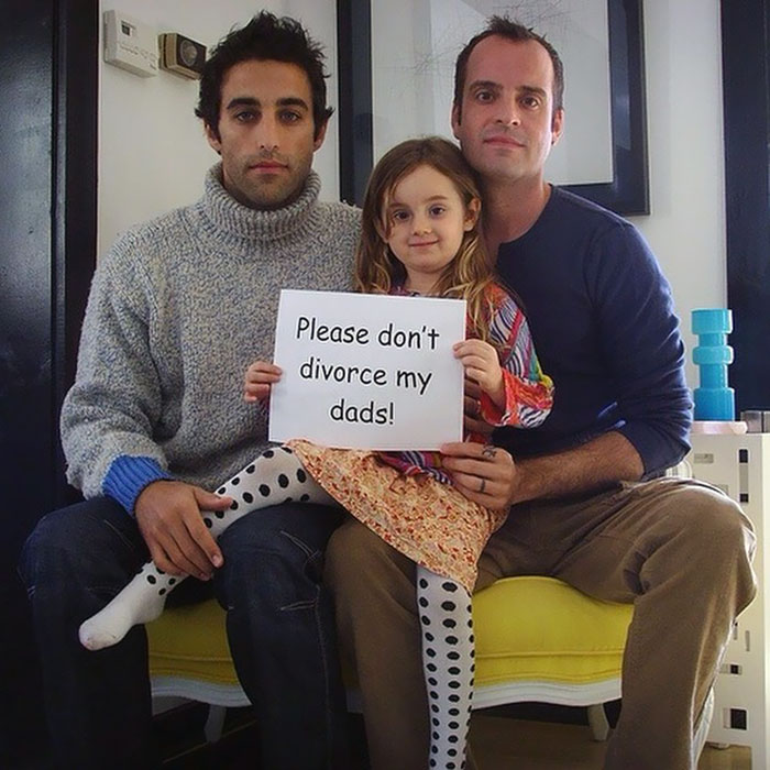 Please Don't Divorce My Dads