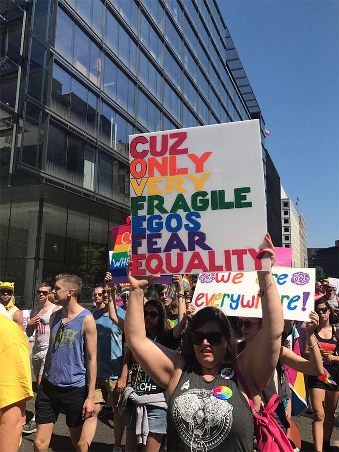 Cuz Only Very Fragile Egos Fear Equality