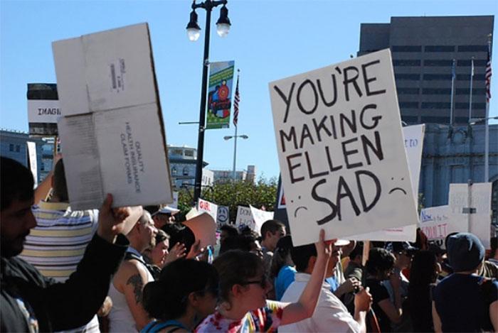 You're Making Ellen Sad