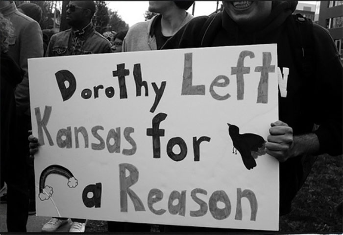 Dorothy Left Kansas For A Reason
