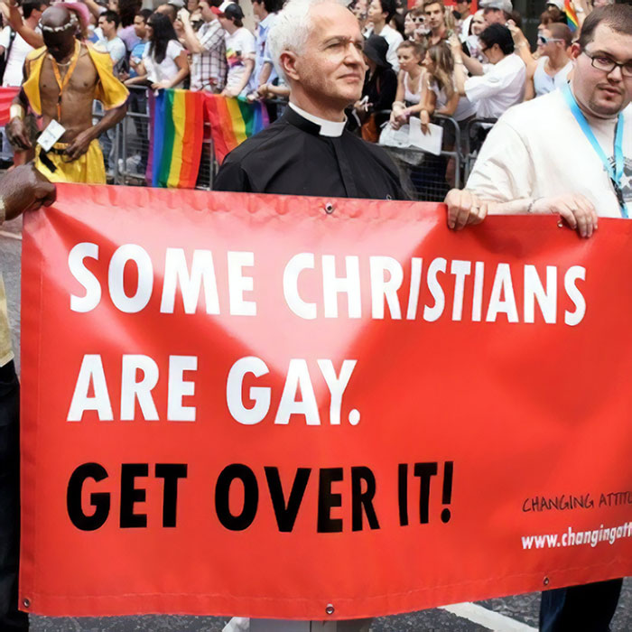 Some Christians Are Gay. Get Over It