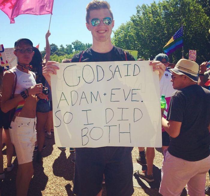 God Said Adam + Eve. So I Did Both