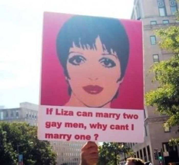If Liza Can Marry Two Gay Man, Why Can't I Marry One?