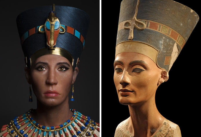 King Tut's Biological Mother, Likely Nefertiti