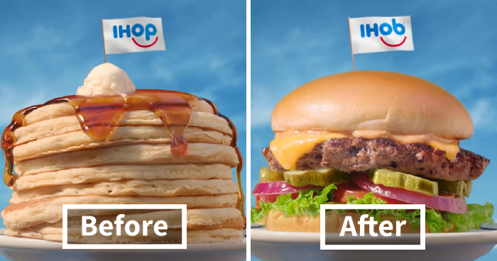 Everyone Is Trolling IHOP For Going From Pancakes To Burgers, And No One Is As Savage As Wendy's