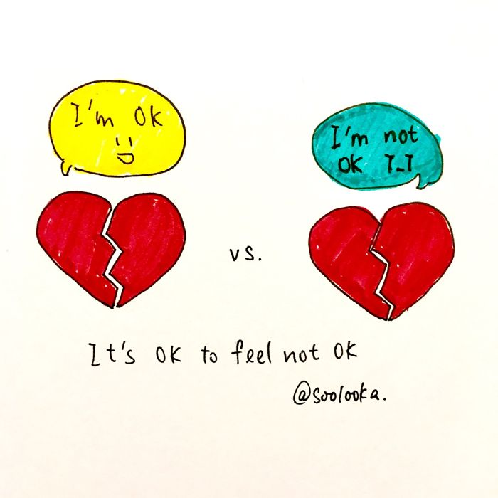 It's Ok To Say And Feel Not Ok