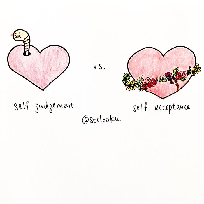 Self Acceptance Vs Self Judgement