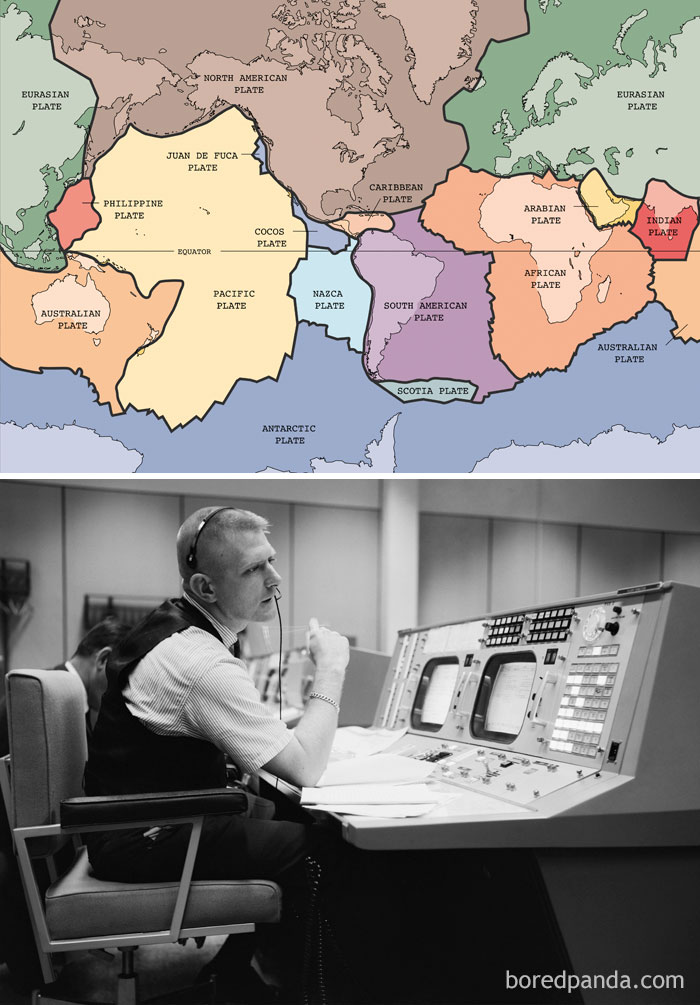 (2) Nasa Was Exploring Space By The Time Scientists Could Agree On Plate Tectonics (1965)