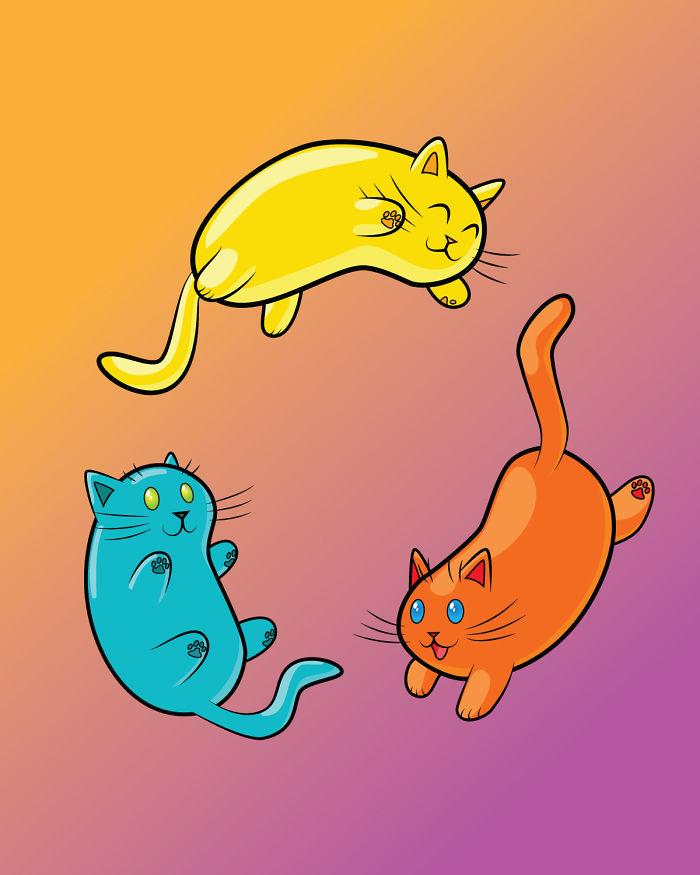Jelly Bean Cats