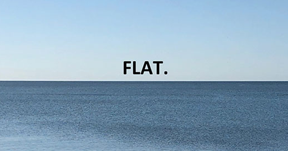 The Way This Guy Proves Earth Is Not Flat Is Brilliant