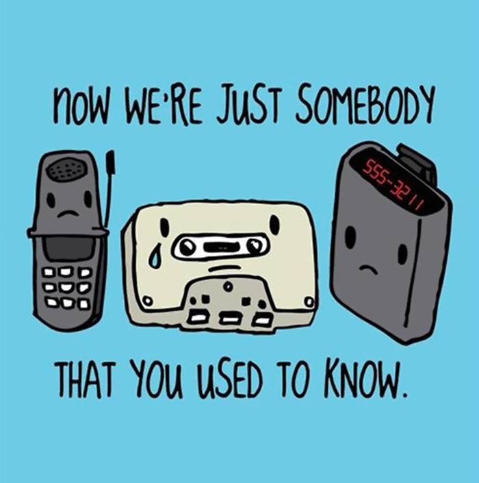 Things We Used To Know